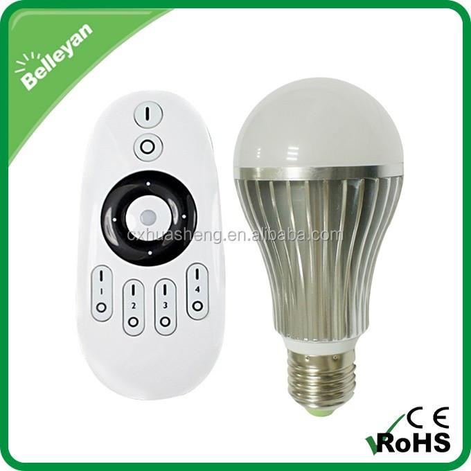 Color Changing Led Light Bulb E27,Ac100-240v Dimmable Ce Rohs Led ...