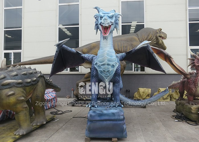 Theme Park High Simulation 3D Dragon Product