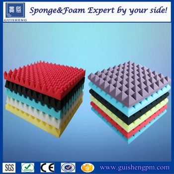 China Wholesale Sound Absorbing Acoustic Foam Panels With