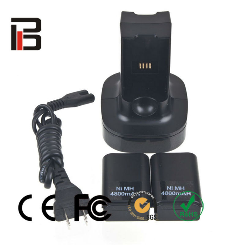 Hot selling item on Amazon for Xbox 360 Quick Charge Kit