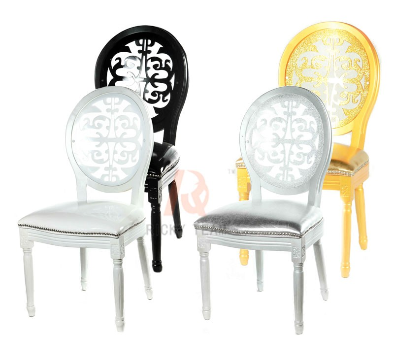 Transparent Back French Acrylic Louis Chairs Buy Acrylic