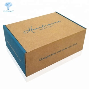 Custom hard drive iphone laptop corrugated packing shipping boxes
