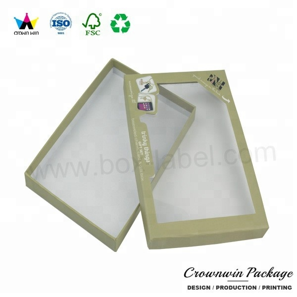 Crownwin clear top fancy gift zoete cake doos