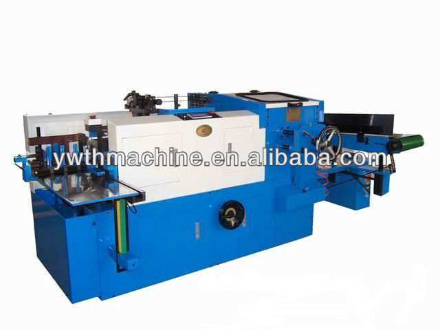Automatic Fore-Edge Cutting And Cover Folding Machine For Book Binding