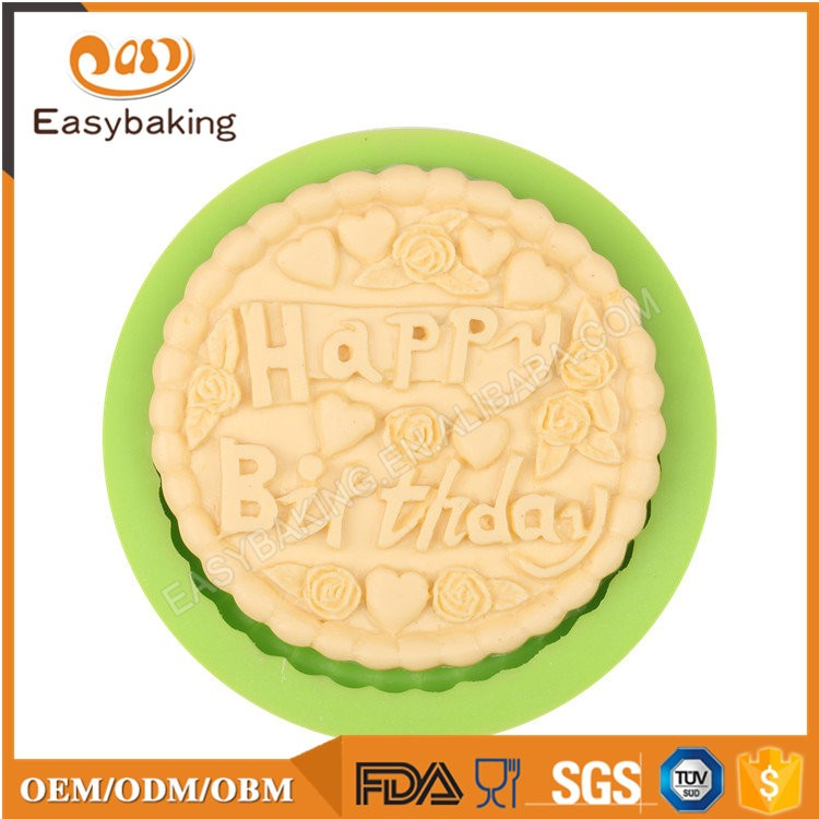 ES-6112 Fondant Mould Silicone Molds for Cake Decorating