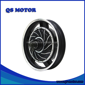 QS Motor 17 inch 273 3000w 72v Electric Motorcycle In-Wheel Hub Motor(40H) V2 Type