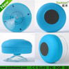 (BTS-06) factory priced wireless bathroom speaker with suction cup made from shenzhen manufacturer