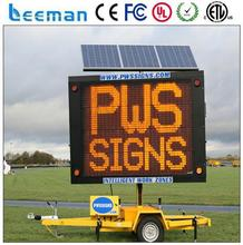 led variable message signs solar vms trailer p10 vehicle led display wireless led moving message display