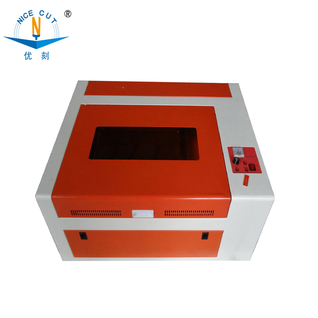 2018 famous sale NC-S4040 40w rubber stamp making laser engraving machine
