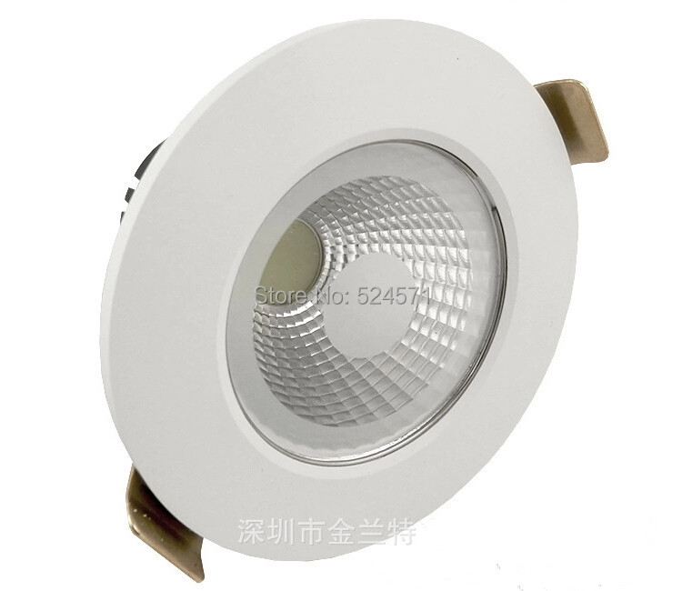 Wholesale price High quality 10W COB Down light lamp+led driver CE RoHS warranty 3 years cob recessed led lamp light AC85-265V