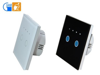 Eu Standard Multi-function Crystal Glass Intelligent Touch Switch ...