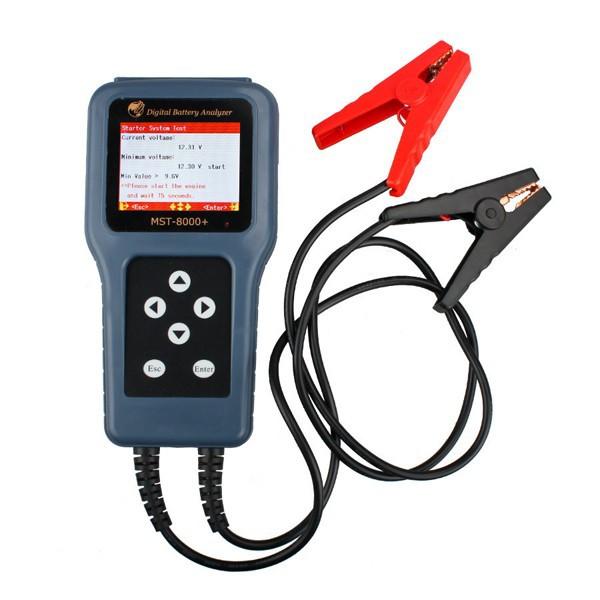 MST-8000 + 디지털 배터리 분석기 분리형 프린터 MST-8000 자동차 배터리 분석기 MST 8000 지원 12 볼트