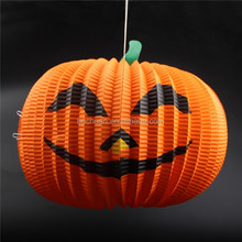Party Supply Paper Lantern Pumpkin for Halloween