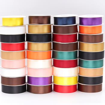 Lude ribbon factory cheap custom logo printed printed grosgrain satin ribbon