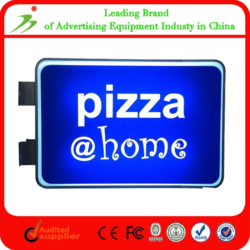 Restaurant Display Sign Outdoor Acrylic Double Sided Advertising ...