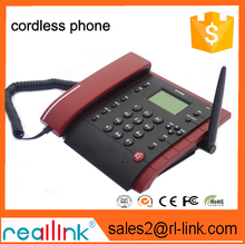 High quality 2G 3G GSM WCDMA landline phone with sim card SMS phone book