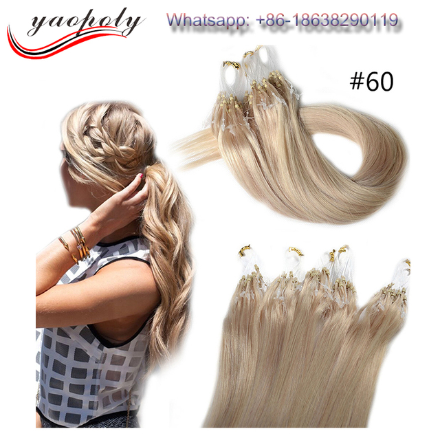 New Premium Good Feedback Gold Supplier No Shedding Tangle Free 2g Natural Virgin Remy Brazilian Micro