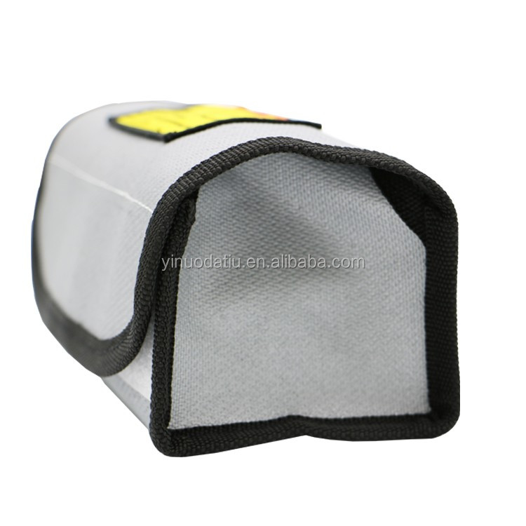 185*75*60mm Fire Resistant bag for game drone battery protection fire resistant bag
