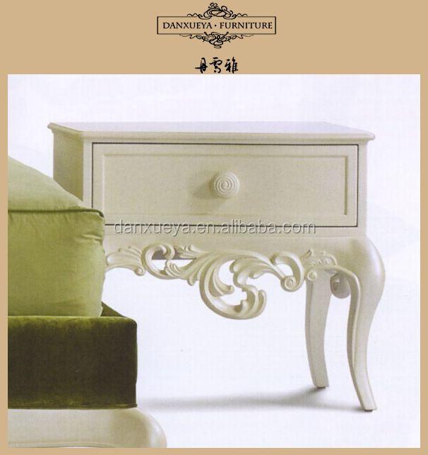 Hermosa Elegante Real Muebles De Dormitorio/cama Mesa Lateral - Buy ...