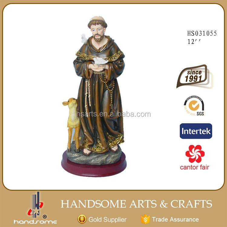 Resin Craft Polyresin Statue Christian Religious Items