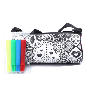 Mini Cheap Person Fashion Creative DIY Kawaii Pouch Pencil Case Pen Bag Taobao