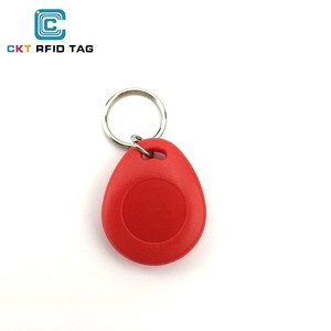 LF chip EM4305 Proximity ID rewrite RFID ID cards rfid door keychain & card