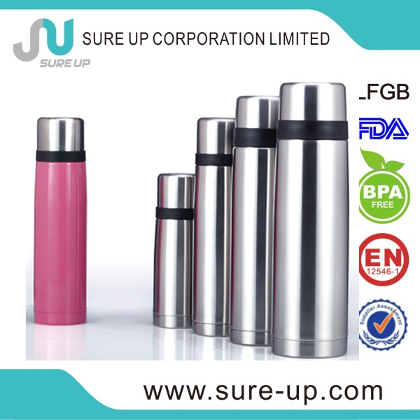 Best gift horse year of 2014 high quality vacuum flasks refills with press switch (FSUD)