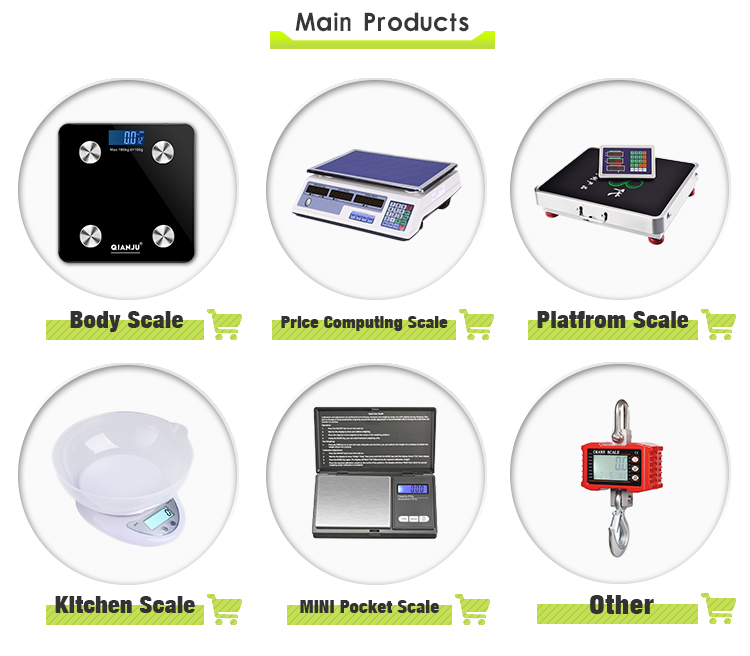 ACS-833 40kg Electronic Weighing Scale Digital Price Computing Scale for Retail Use