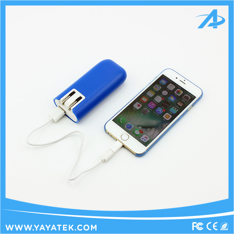 2017 New products 4400mah AC power bank phone charger,mobile phone accessories charger