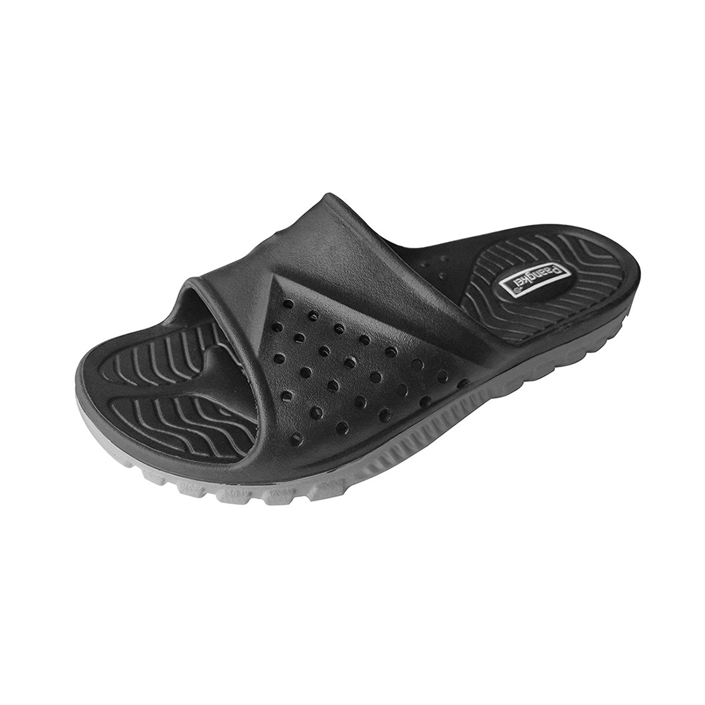 Paangkei Unisex Slide Sandal, Womens/Mens/Big Kids Sport Sandals/Slides/Flip Flops/Slippers/Shoes for Pool,Beach,Dorm & Gym,Outdoor,Indoor,Bedroom,Home/House