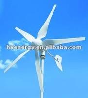 HYE New Wind Generator 1KW windmill generaotor 1000W AC 24V wind turbine