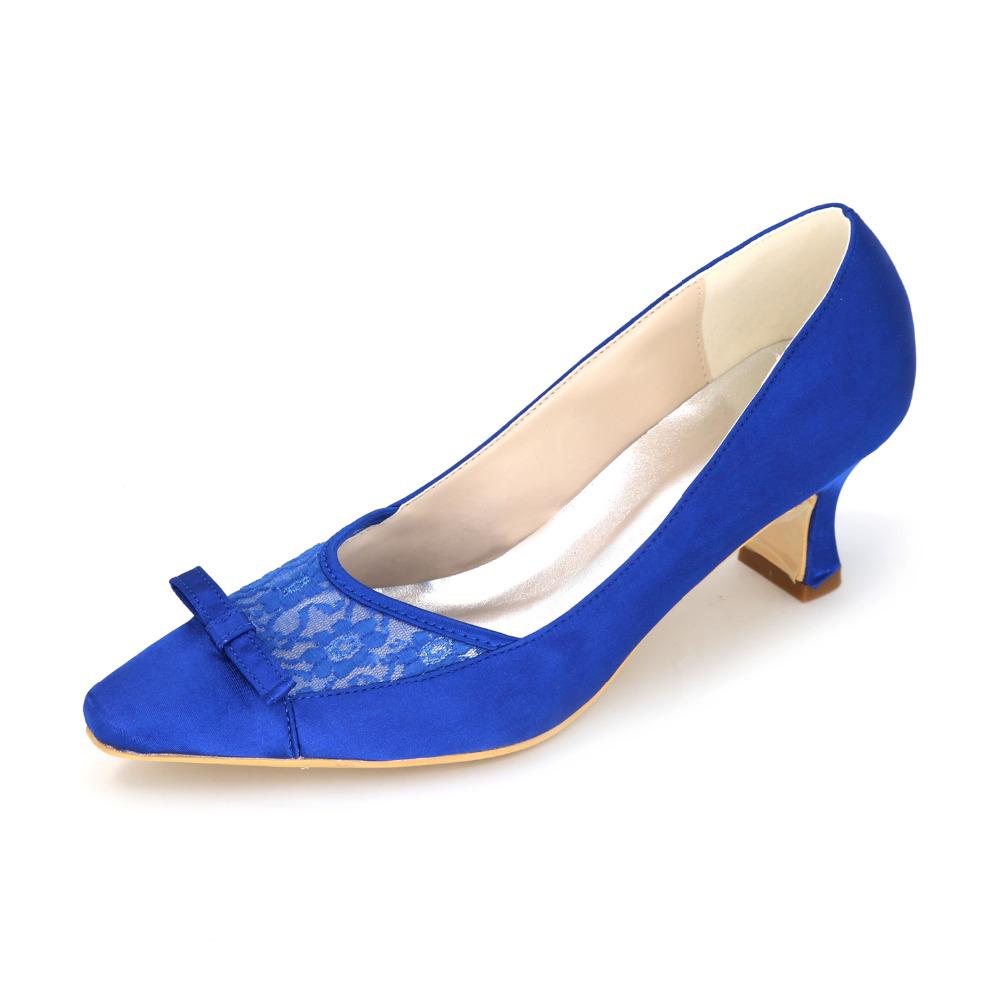 Purple Bridal Shoes Low Heel