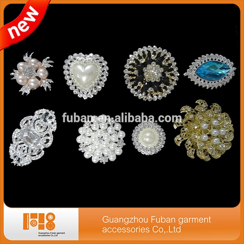 fashion jewelry cheap bridal crystal rhinestone brooch wedding brooches for women