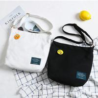 Wholesale Korean students canvas shoulder messenger bag