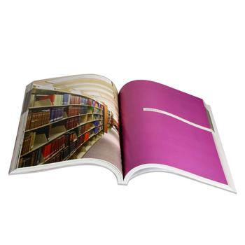 Custom 80gsm gloss art paper full color A4 catalog printed services