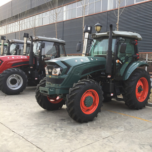 high quality China brand 150hp four wheel drive big farm tractor three point mounted implements