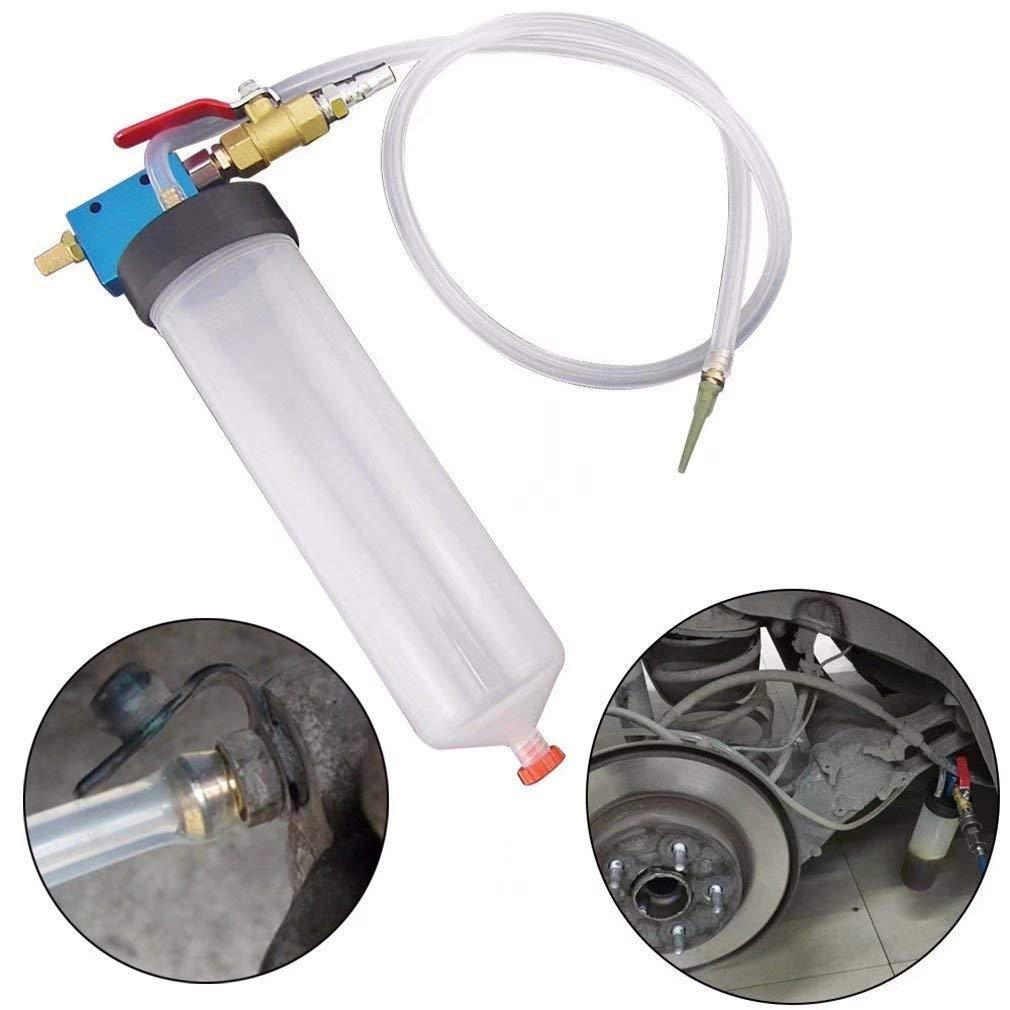 jatech 1 set of Hydraulic Brake Bleeder Clutch Tool Kit Auto Motorcycle Oil Pump Oil Bleeding Replacement Adapter Hose Kit