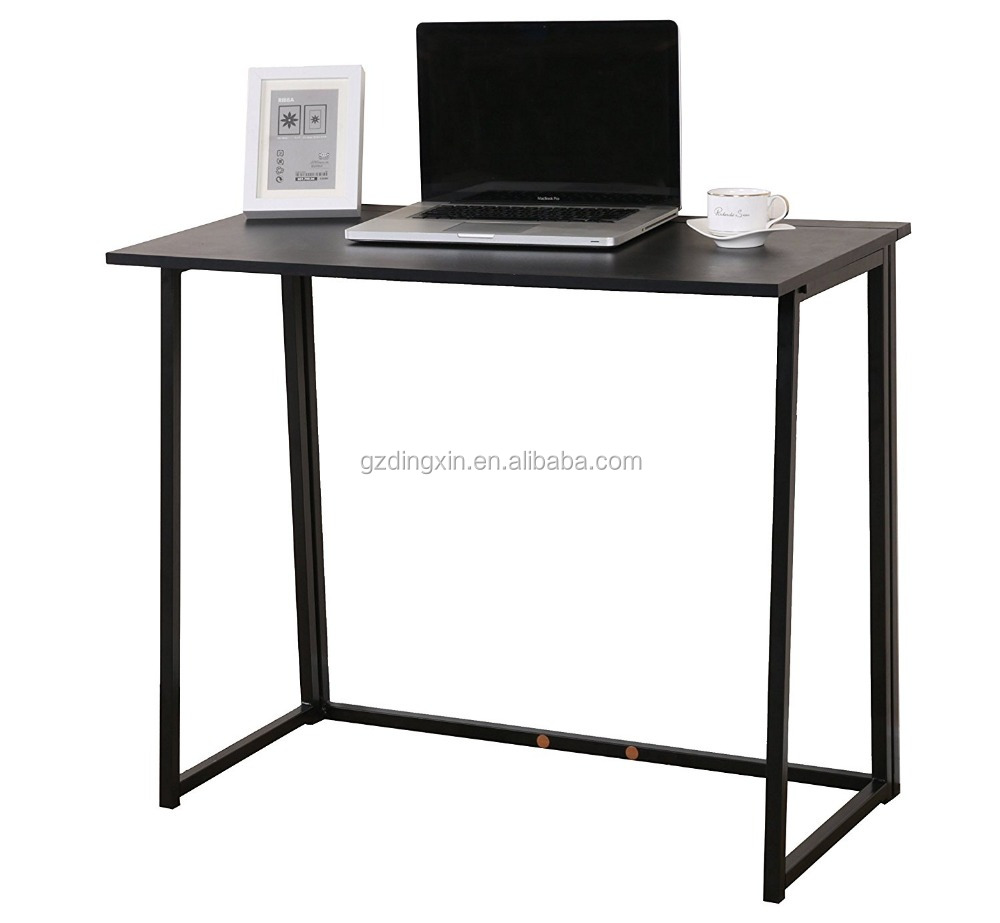 compact office desks. Dingxin Furniture Compact Flip-flop Folding Computer Desk Home Office Laptop Desktop Table - Buy Portable Table,Wooden Desks N
