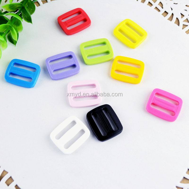 KAM 20mm Eco-friendly Adjustable Plastic Slide <strong>Buckles</strong> For Outdoor Backpack,12 Colors