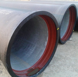 China ductile iron pipe manufacturer di pipes k7 k9 12 inch drain pipe