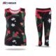 customized lycra yoga singlets yoga crop pant