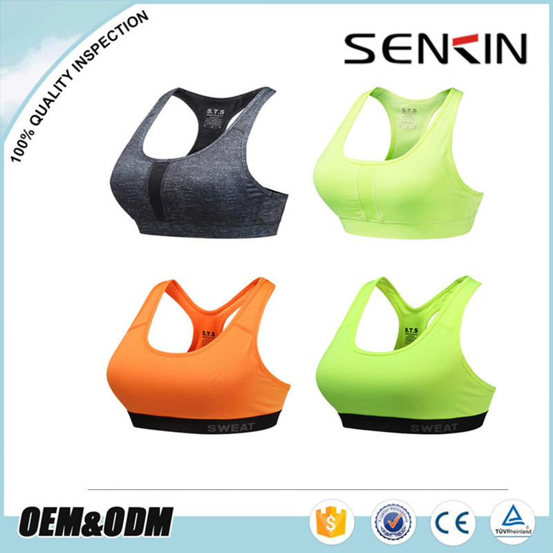 OEM wholesale sports wear women custom yoga bra fitness sports fly bra