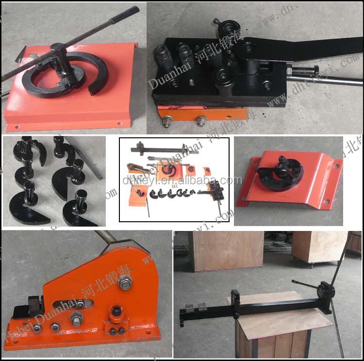 Manual Scroll Bending Machine Wrought Iron Machine