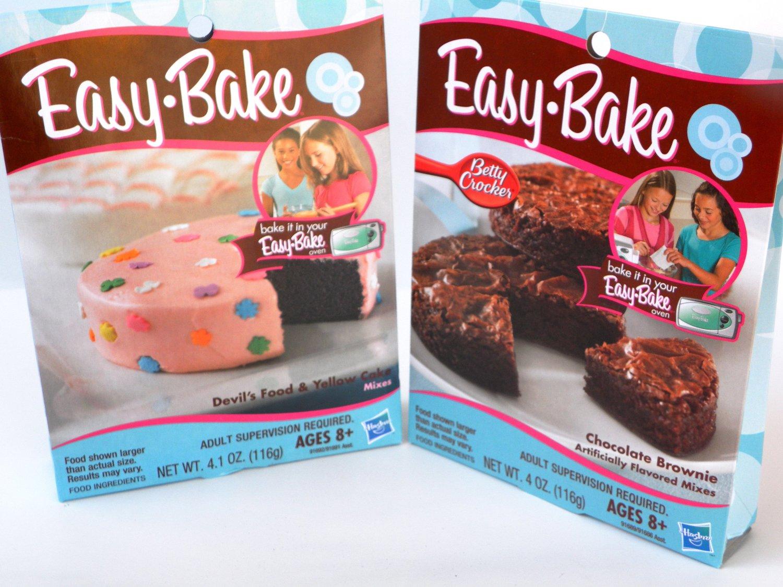 Easy Bake Oven Recipes Devil S Food Cake