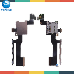 New SD Card Holder with Flex Cable and Power & Volume Button Connector For HTC one m9, For HTC One m9 SD Card Flex Cable
