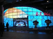 chian video message led display/full color led display video panel screen/p4 indoor led display board video in china