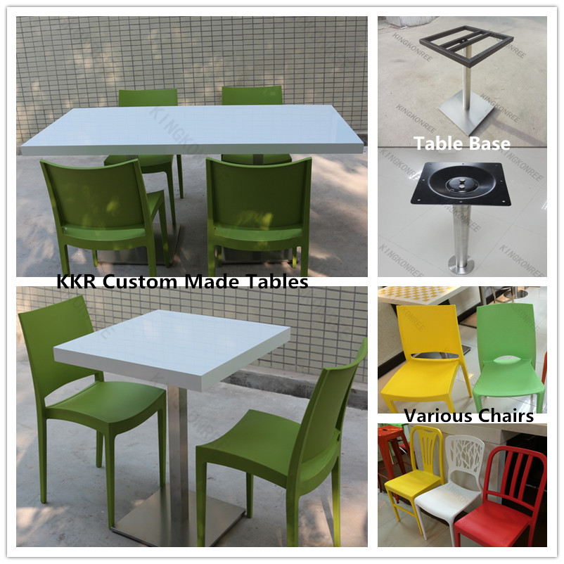 Description Malaysia Design Solid Surface Coffee Table And Chair