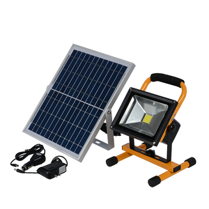 Outdoor 10w 20w 30w 50w ip65 waterproof gas station smd solar led flood light in pakistan