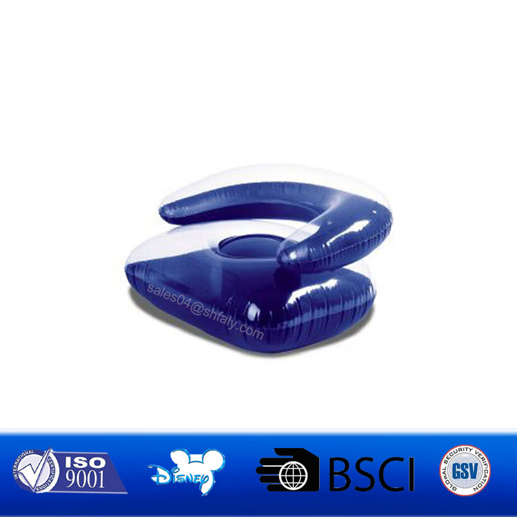 Air Sofa and Pool Float Indoor or Outdoor Inflatable Lounger