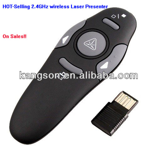 2.4GHz mini smart rc laser pointer for powerpoint with CE&RoHs